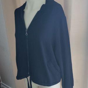 Joy Lab Blue Workout/Casual Jacket NWT